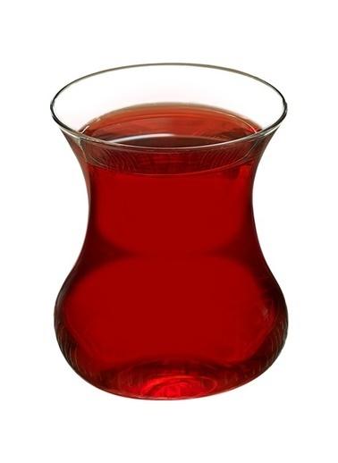 Paşabahçe 6 Lı Aurora Çay Bardağı Beyaz
